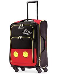 """Disney - Mickey Mouse Pants 21"""" Spinner Suitcase By American Tourister - Lyst"""
