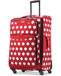 """Disney - Minnie Mouse Polka Dot 28"""" Spinner Suitcase By American Tourister - Lyst"""