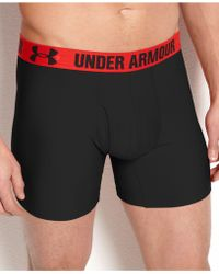 Under Armour - Men's Heatgear 6'' Boxerjock 2-pack - Lyst