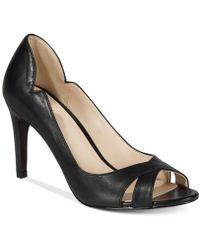 Cole Haan - Jacinda Open-toe Court Shoes - Lyst