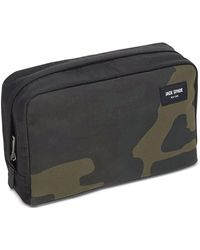 Jack Spade - Men's Waxed Cotton Camo Toiletry Kit - Lyst