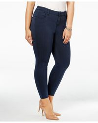 Celebrity Pink - Trendy Plus Size Infinite Stretch Overdyed Jeans - Lyst