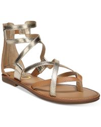 Circus by Sam Edelman - Bevin Gladiator Sandals - Lyst