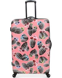 """Jessica Simpson - Cactus Printed 29"""" Hardside Spinner Suitcase - Lyst"""