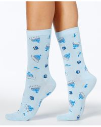 Charter Club - Women's Menorah Socks - Lyst