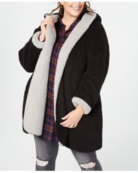 Style & Co. - Plus Size Reversible Faux-fur Coat, Created For Macy's - Lyst