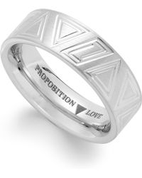 Proposition Love - Cobalt Triangle Motif Ring - Lyst