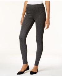 Olivia & Grace - Ponté-knit Seamed Leggings - Lyst