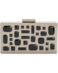 INC International Concepts - Marisoll Embellished Mini Box Clutch - Lyst