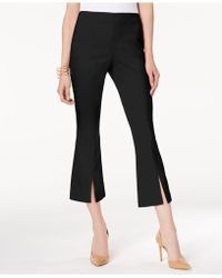INC International Concepts - I.n.c. Cropped Split-hem Pants, Created For Macy's - Lyst