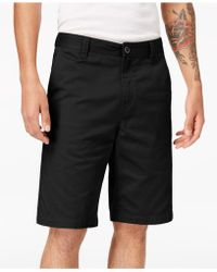 Volcom - Men's Finished-hem Shorts - Lyst