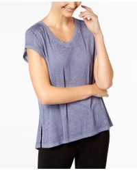 Calvin Klein - Performance Gathered-back Top - Lyst