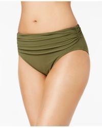 Gottex - High-waist Ruched Bikini Bottoms - Lyst