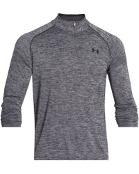 Under Armour - Long Sleeve Quarter-zip Pullover - Lyst