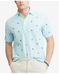 Polo Ralph Lauren - Classic-fit Sailboat & Compass Print Polo - Lyst