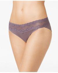 Natori - Bliss Perfection Lace-waist Vikini 756092 - Lyst