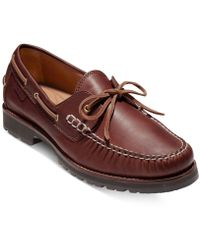 Cole Haan - Men's Connery One-eye Lace Loafers - Lyst