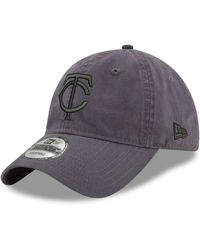 timeless design a9c5e e2c5a KTZ Minnesota Twins Side Sketch 9fifty Cap in Gray for Men - Lyst