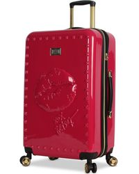"Betsey Johnson - Lips 26"" Hardside Expandable Spinner Suitcase - Lyst"