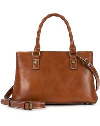 Patricia Nash | Heritage Angela Double-compartment Small Satchel | Lyst