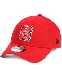 KTZ - North Carolina State Wolfpack League 9forty Adjustable Cap - Lyst d251bd015981