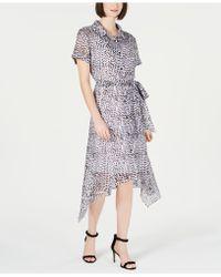 Julia Jordan - Animal-print Shirtdress - Lyst