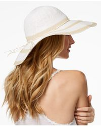 INC International Concepts - I.n.c. Woven-stripe Floppy Hat, Created For Macy's - Lyst