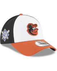 finest selection 74b6e 34a3f KTZ - Baltimore Orioles Jackie Robinson Collection 9forty Cap - Lyst