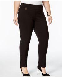 Alfani - Plus Size Pants, Modern Skinny Pull-on - Lyst