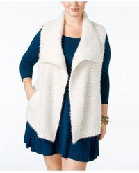 Style & Co. - Plus Size Eyelash Ribbed Vest - Lyst