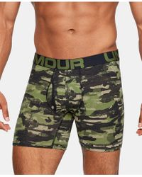 Under Armour - 3-pk. Charged Cotton® Boxer Briefs - Lyst