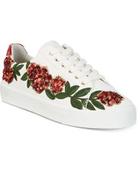 INC International Concepts - Sanice Embroidered Trainers, Created For Macy's - Lyst
