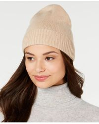 Charter Club - Cashmere Cuffed Beanie, Created For Macy's - Lyst