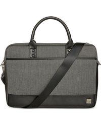 Knomo - Herringbone Laptop Briefcase - Lyst