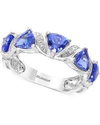 Effy Collection - Tanzanite Royalé By Effy® Tanzanite (1-9/10 Ct. T.w.) & Diamond Accent Ring In 14k White Gold - Lyst