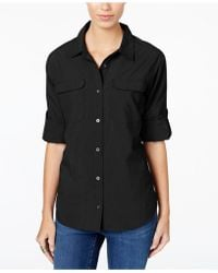G.H.BASS - Pocketed Roll-tab Shirt - Lyst