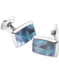 M-clip - Mother Of Pearl Rectangle Cufflinks - Lyst