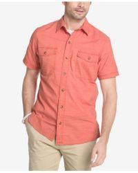 G.H.BASS - Men's Salt Cove Turbo-dry Pigment-dyed Cotton Shirt - Lyst