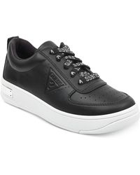 Guess - Hype Lace Up Sneakers - Lyst