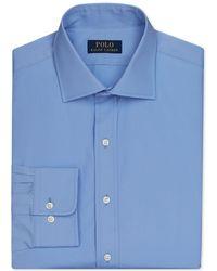 Polo Ralph Lauren - English Poplin Solid Dress Shirt - Lyst