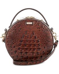 Brahmin - Melbourne Lane Small Top Handle Circle Crossbody - Lyst