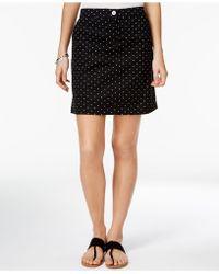 Karen Scott - Petite Dot-print Skort, Created For Macy's - Lyst