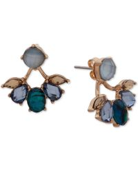 Lonna & Lilly - Gold-tone Stone Jacket Earrings - Lyst