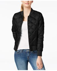 32 Degrees - Packable Down Bomber Coat - Lyst