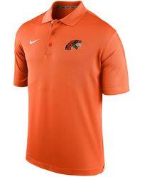 39d2bd81201b23 Nike - Florida A m Rattlers Varsity Team Logo Polo - Lyst