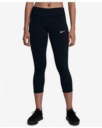 Nike - Racer Dri-fit Cropped Running Leggings - Lyst
