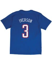 fea6ce83e Mitchell   Ness - Allen Iverson Nba All Star 2004 Name   Number Traditional  T-