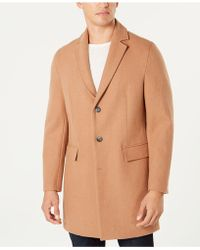 INC International Concepts - Dublin Camel Topcoat, Created For Macy's - Lyst