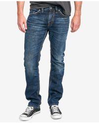 Silver Jeans Co. - Men's Konrad Slim Fit Jeans - Lyst