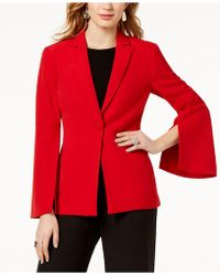 INC International Concepts - I.n.c. Vented Bell-sleeve Blazer, Created For Macy's - Lyst